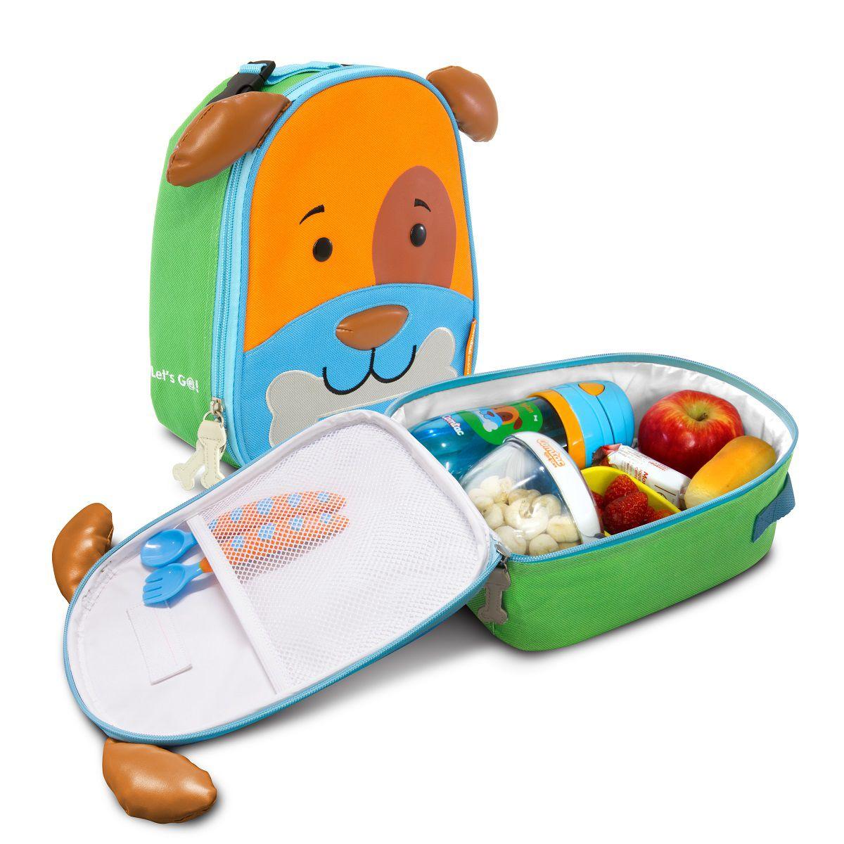 Lancheira Termica Infantil Cachorro Lets Go - Comtac