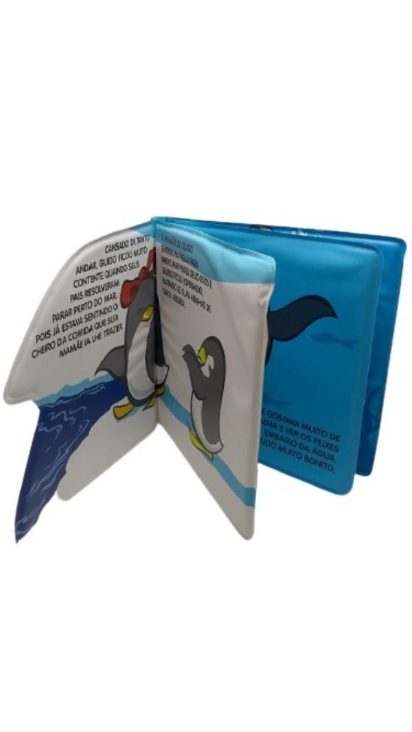 Livro de Banho Amiguinhos do Mar Pinguim - Todolivro