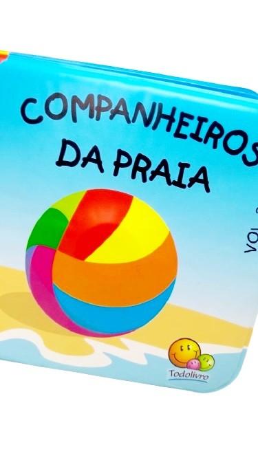 Livro de Banho Companheiros da Praia - Todolivro