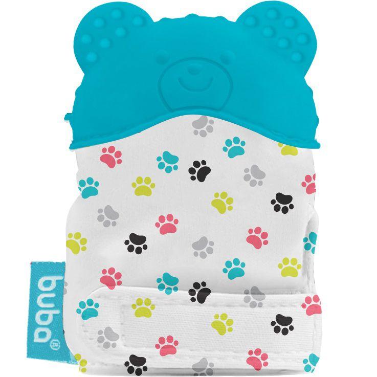 Luvinha Mordedor de Silicone Urso Azul - Buba Baby