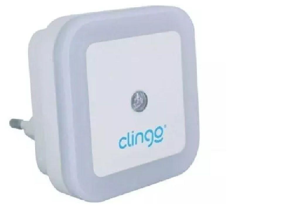 Luz Noturna com Sensor Automático Led - Bivolt - Clingo