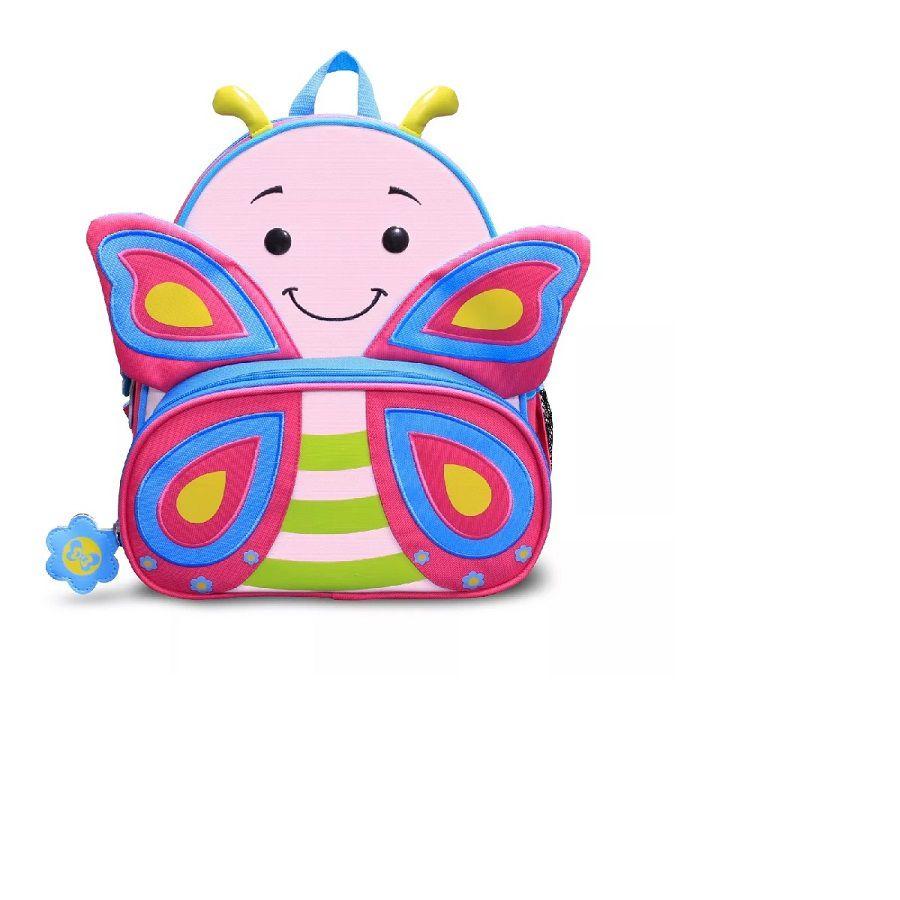Mochila Infantil Animais Borboleta - Linha Let's go Comtac