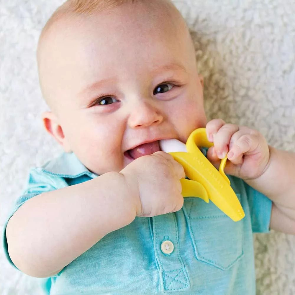 Mordedor e Massageador de Gengiva Bananinha - Buba Baby