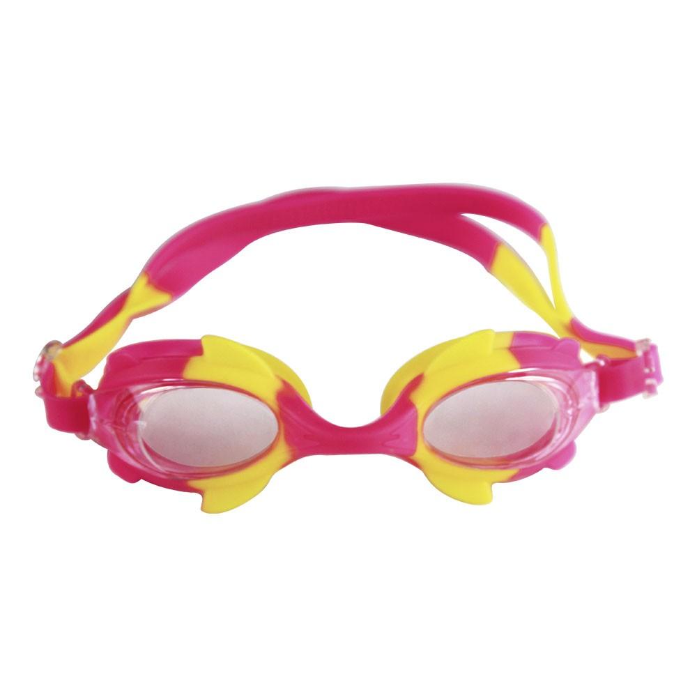 Óculos de Natação Infantil Com Protetor de Ouvido Peixinho - DM Splash