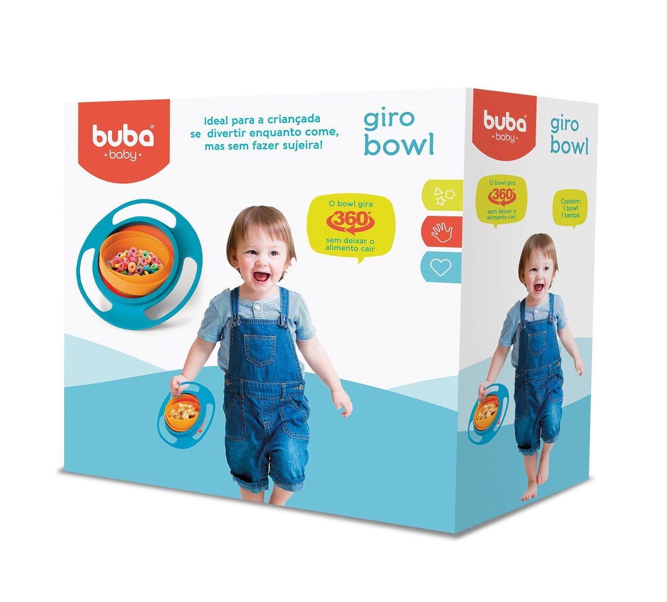 Prato Mágico Giratório Gira Bowl Infantil - Buba Baby