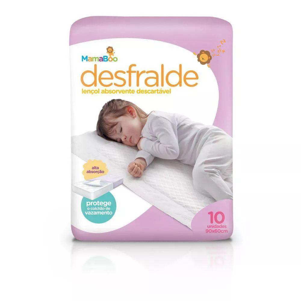 Protetor Descartável de Colchão Desfralde Mamaboo - três pacotes