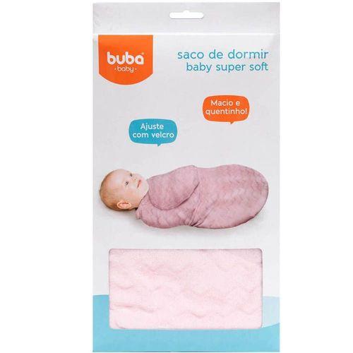 Saco de Dormir Baby Super Soft Rosa - Buba Baby