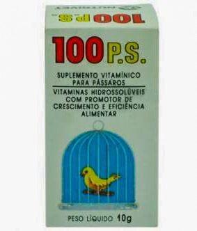 100 PS- SUPLEMENTO ALIMENTAR