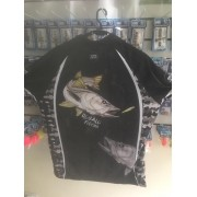 CAMISA ACTION FISH DE PESCA UV ROBALO FLECHA -ROCK FISHING- TAMANHO M
