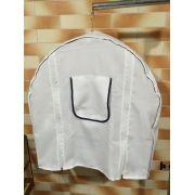 Capa Branca para Gaiola  - Excelente Tecido