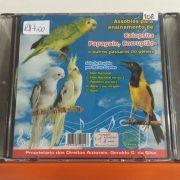 CD Ensinamentos Assobios para Calopsita , Papagaio Currupiao