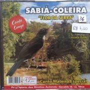 CD Sabia Coleira Flor da Serra - Canto Longo