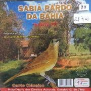 CD sabia Pardo da Bahia
