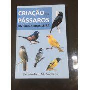 Livro Criação de Passaros da Fauna Brasileira