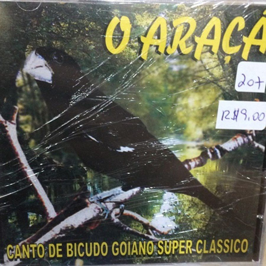CD Bicudo O Araca - Canto Goiano Super Clássico