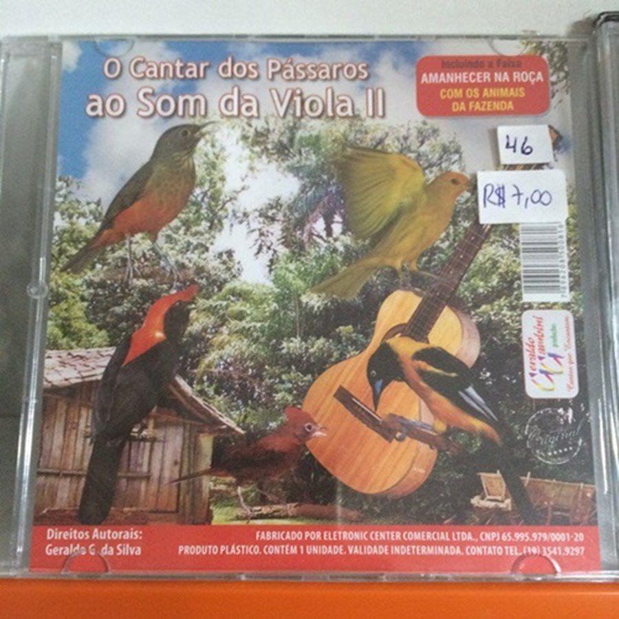 CD o cantar dos pássaros ao som da viola 2