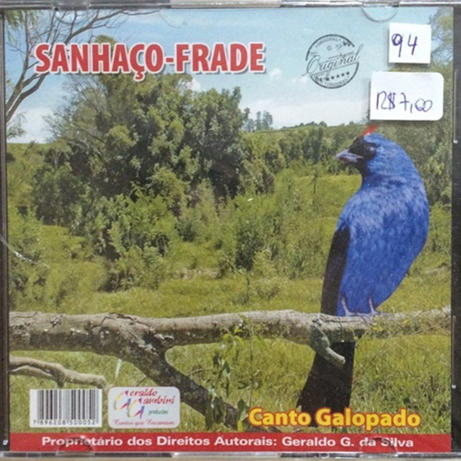 CD Sanhaço Frade - Canto Galopado
