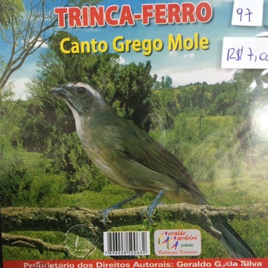 CD Trinca Ferro Canto Grego Mole