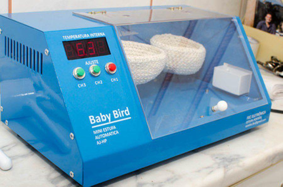 Estufa Portátil Baby Bird