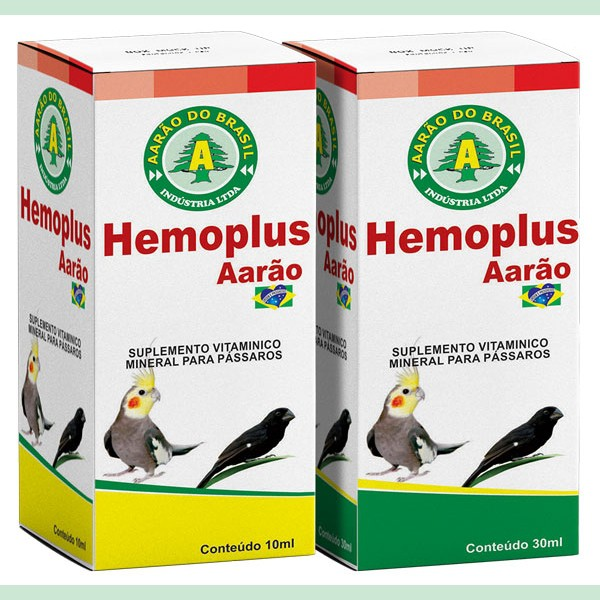 HEMOPLUS - AARÃO 10 ml