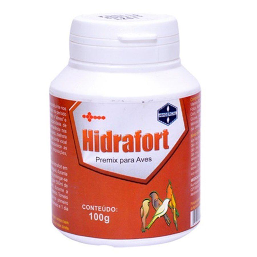 Hidrafort - Fundamental para a Saúde das Cordas Vocais das Aves