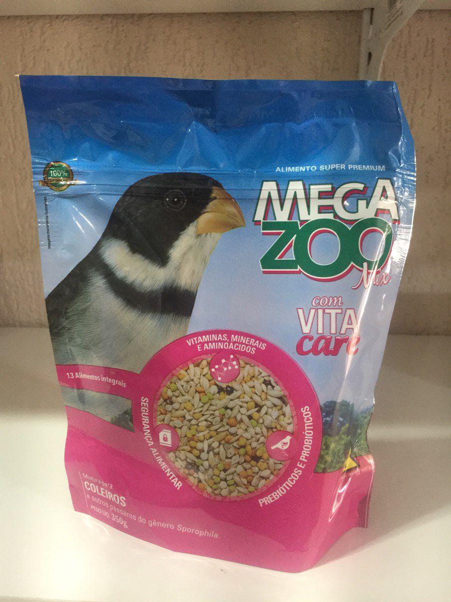Megazoo - Mix Sementes para Coleiros- 350g
