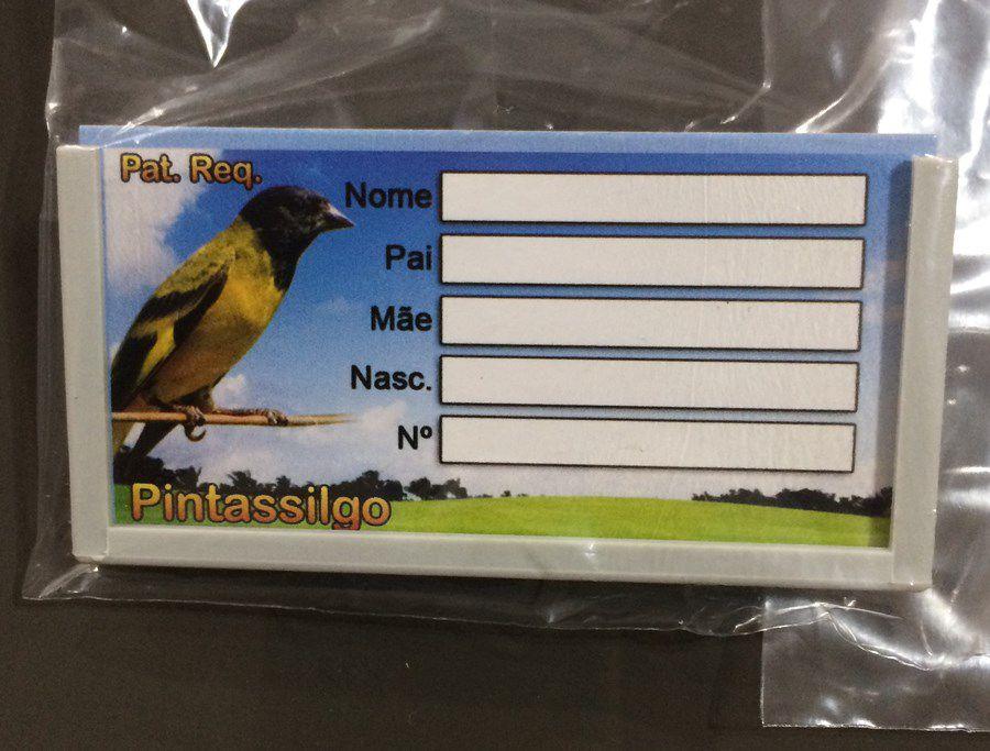 Placa de Identificacao Pintassilgo