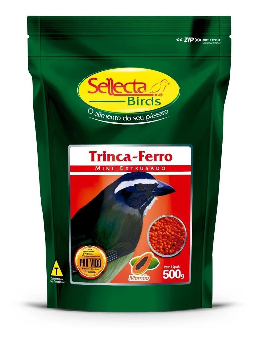 Sellecta Trinca-Ferro Mamão - Mini Extrusado 500g