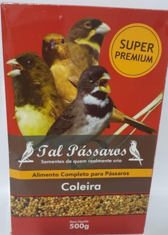 Tal Pássaros Coleira Super Premium 500g