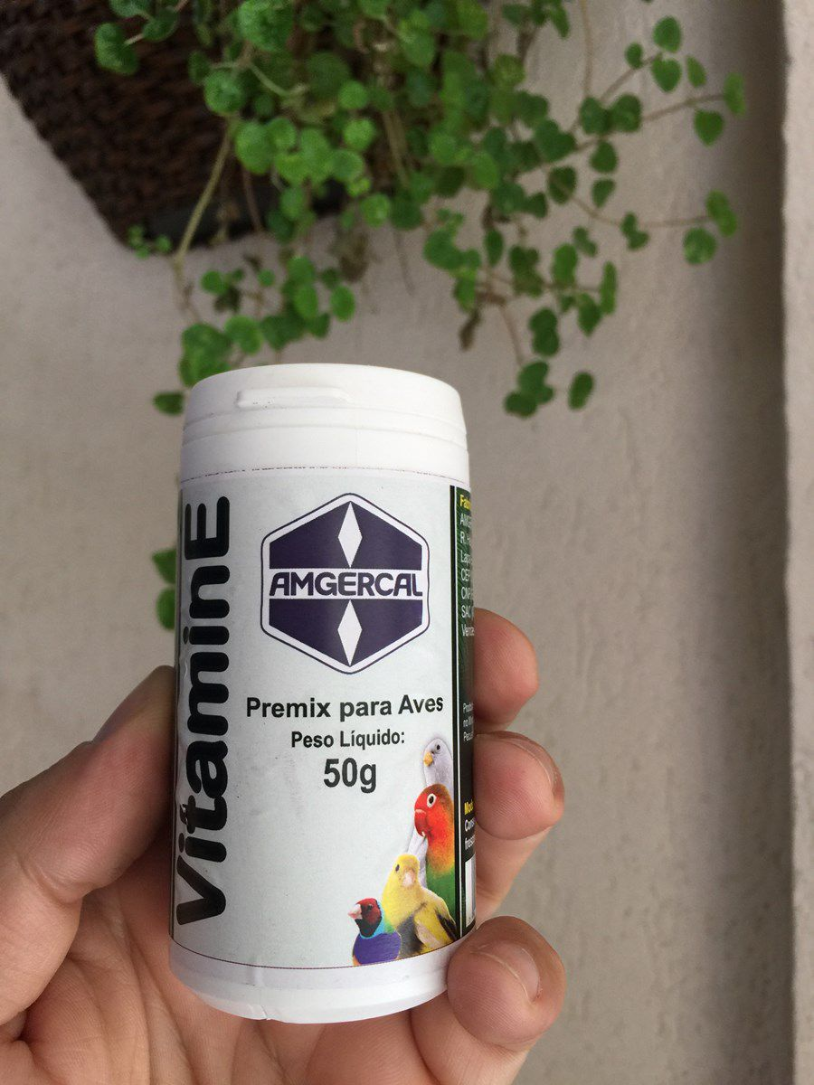 Vitamina E - Amgercal 50g