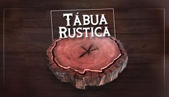 tábuas de churrasco rusticas e bolachas fabricadas em madeira