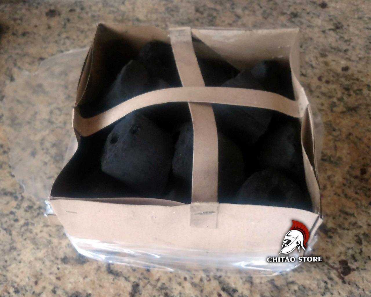 Carvão Acezo 3kg  - Chitao Store