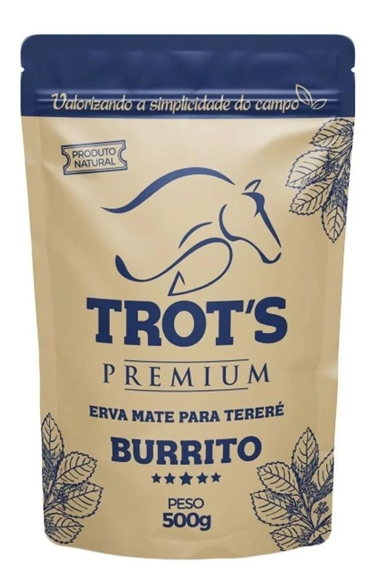 Erva Tereré Burrito Premium 500g Trots