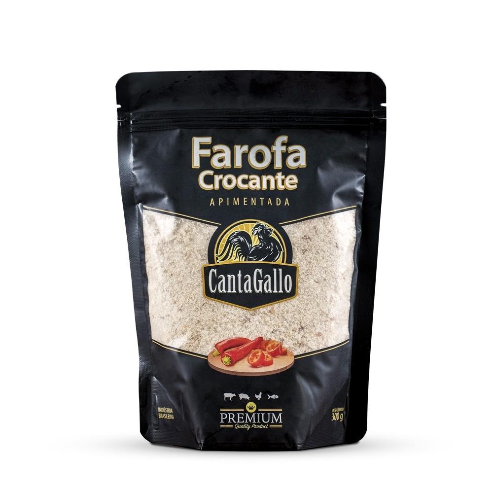 Farofa Crocante Apimentada 300g Cantagallo