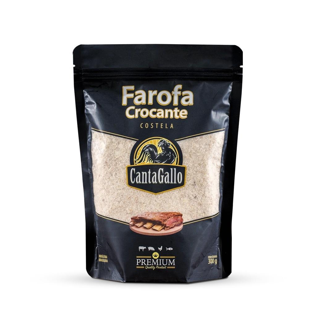 Farofa Crocante Costela 300g Cantagallo