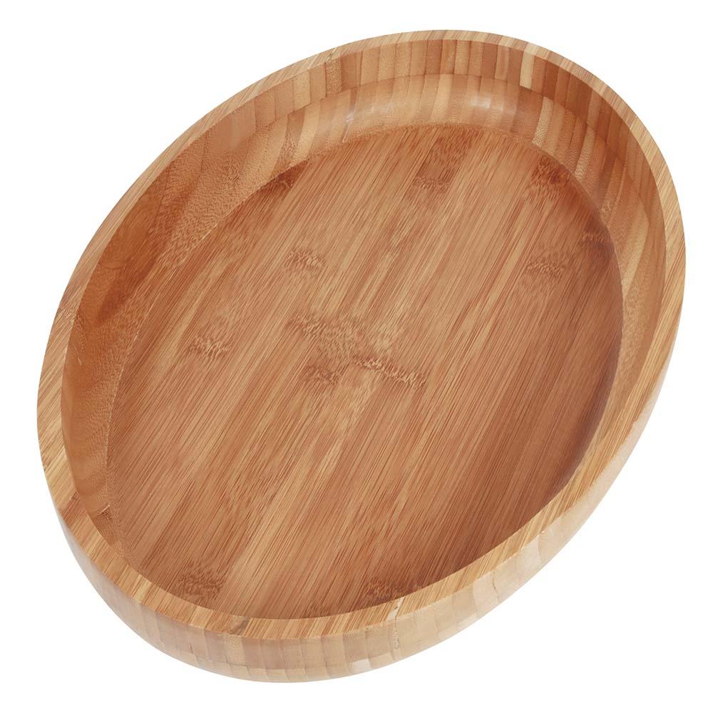 Gamela Oval Bamboo 41x27 cm MOR