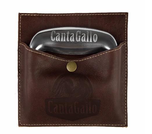 Garra de Urso com Bainha de Couro Legítimo - Cantagallo  - Chitao Store