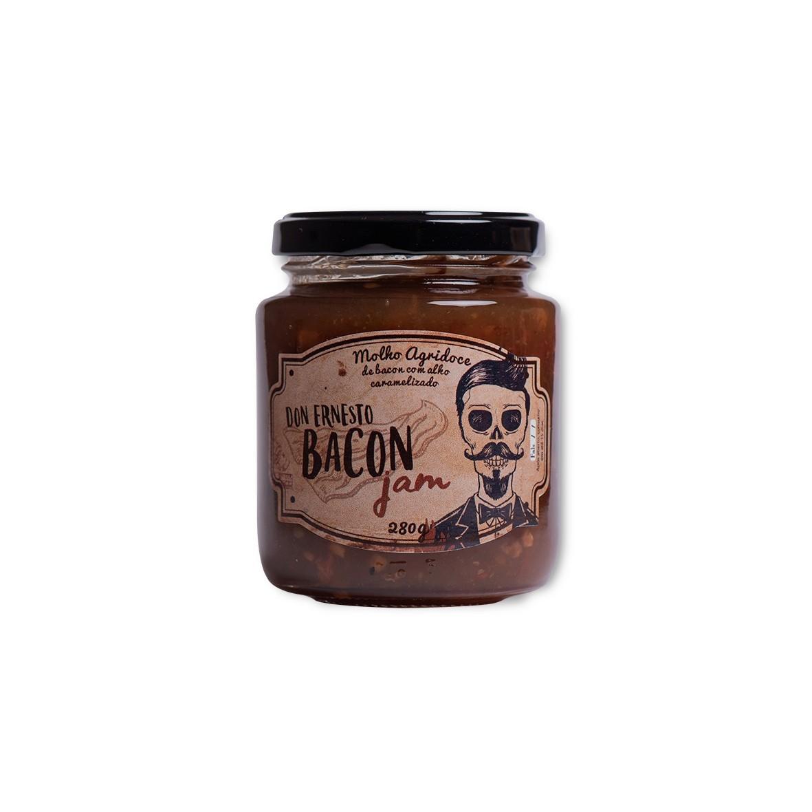 Geleia de Bacon com Alho Caramelizado Don Ernesto