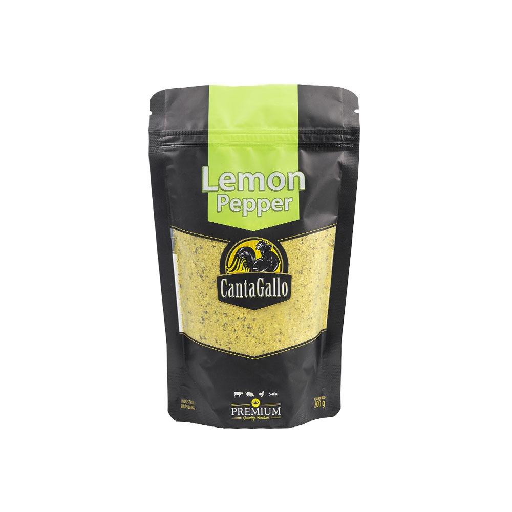 Lemon Pepper Pouch 200g Cantagallo