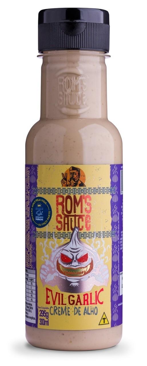 Molho de Alho Cremoso Evil Garlic Roms Sauce
