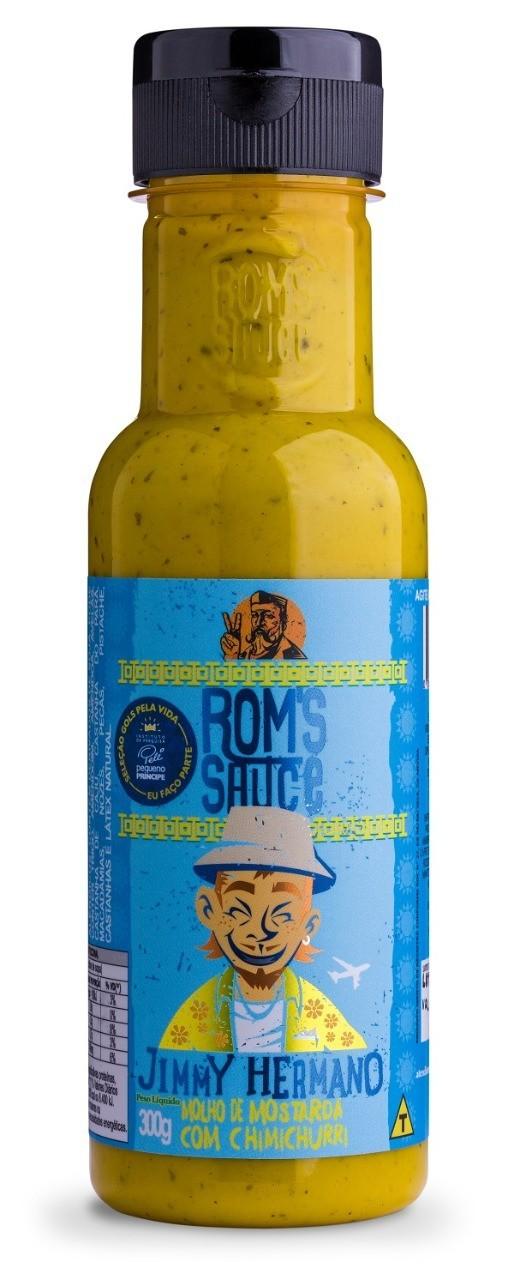 Molho de Mostarda com Chimichurri Jimmy Hermano Roms Sauce