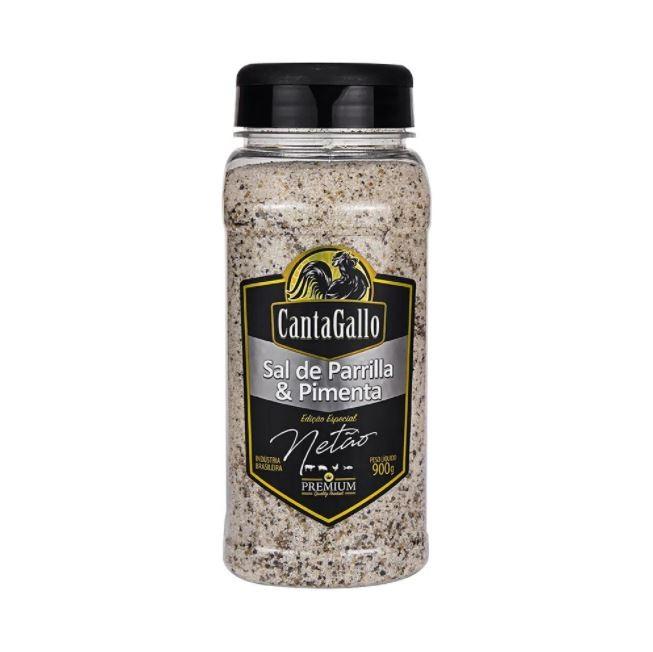 Sal de Parrilla & Pimenta 900g Ed. Especial Netão Cantagallo