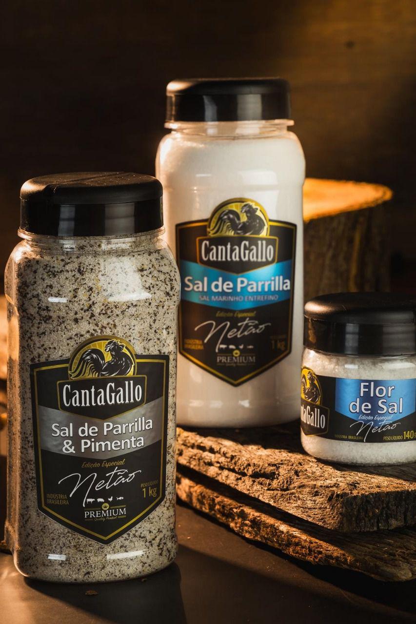 Sal de Parrilla & Pimenta Ed. Especial Netão - Cantagallo  - Chitao Store