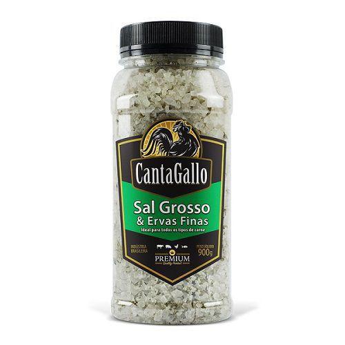 Sal Grosso & Ervas Finas 900gr Cantagallo  - Chitao Store