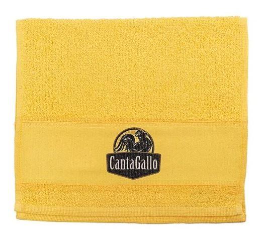 Toalha do Churrasqueiro Amarela Cantagallo