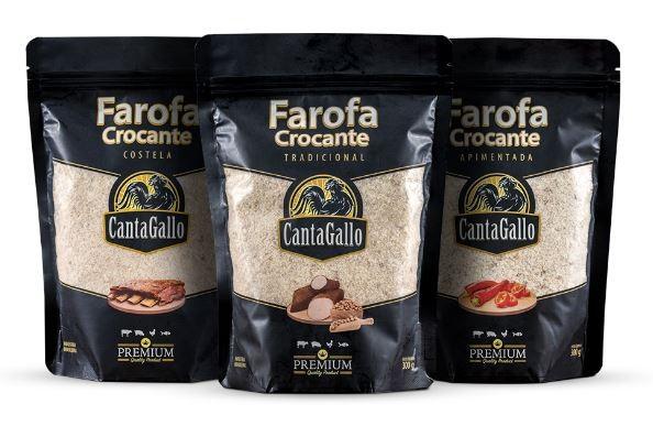 Trio Farofa Crocante Cantagallo