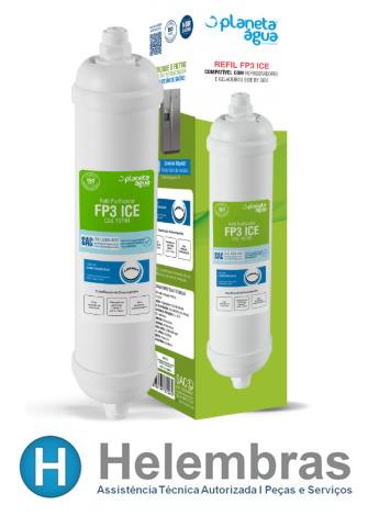 FILTRO REFIL FP3 ICE SIDE BY SIDE EXTERNO COM CONECXÃO DE 1/4