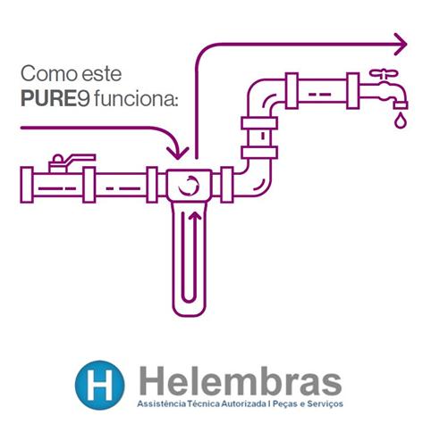 PURIFICADOR PURE9 CABELOS