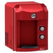 Purificador de Água Refrigerado Health Energy - Top Life - linha alcalina - Vermelho