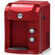 Purificador de Água Refrigerado HEOXI - Top Life - LINHA ALCALINA COM OZÔNIO - Vermelho